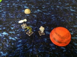 Star Trek Terrain: Totally Out of Scale Planet and Moon